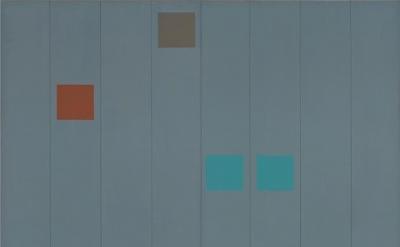 Doug Ohlson, Earendel, 1969, oil on canvas, 90 x 121 inches (courtesy of Washbur