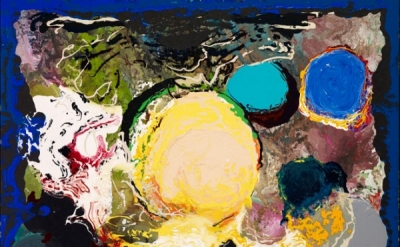 Jules Olitski, With Love and Disregard: Rapture, 2002 Acrylic on canvas, 68 x 92