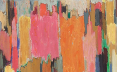 (detail) John Opper, Untitled (210J), 1988, acrylic on canvas, 70 x 66 inches (c