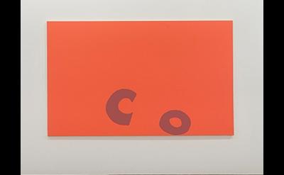 Installation view: Carl Orstendarp: BLANKS, 2014 (courtesy of Elizabeth Dee)