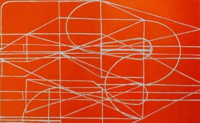 (detail) Paul Pagk, 2015, 70 x 70 inches, oil on linen (photo: Steven Alexander,