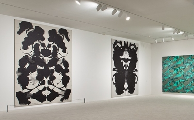 Installation View, The Painting Factory: Abstraction After Warhol at MOCA Los An