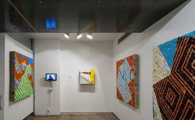 Installation view: Pattern Recognition at the Museum of Contemporary African Dia
