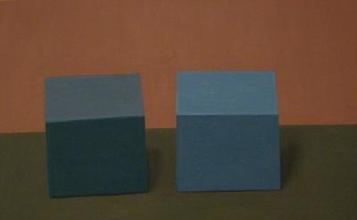 (detail) Victor Pesce, ha ha, 2007 oil on canvas 27 x 36 inches (courtesy Elizab