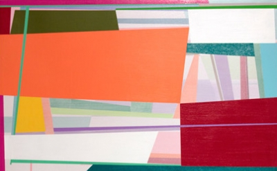 (detail) Gary Petersen, Day Dream, 2014, acrylic on canvas, 24 x 20 inches (cour