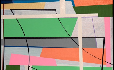 (detail) Gary Petersen, Break Away, 2014, acrylic on canvas, 20 x 16 inches (cou