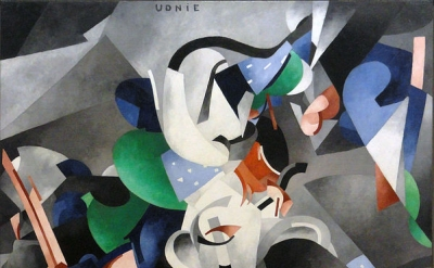 Francis Picabia, Udnie [Young American Girl; Dance], 1913, oil on canvas, 114 3/16 x 118 1/8 inches (Centre Pompidou, Paris)