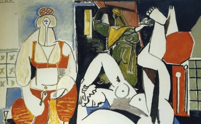 Pablo Picasso, Women of Algiers (after Delacroix) 1955© 2014 Estate of Pablo Pic