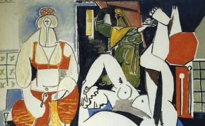 Pablo Picasso, Women of Algiers (after Delacroix) 1955© 2014 Estate of Pablo Pic