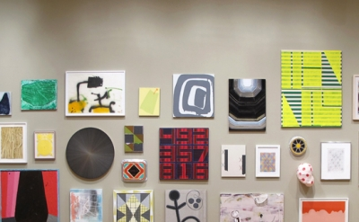 Installation View: This One's Optimistic: Pincushion at New Britain Art Museum