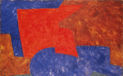 Serge Poliakoff, Composition abstraite, 1969, 35 x 45 5/8 inches, oil on canvas