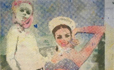 Sigmar Polke, Girlfriends (Freundinnen) 1965/66 (© 2013 Estate of Sigmar Polke /