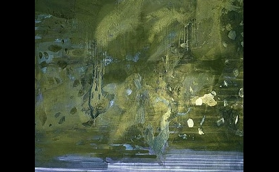 (detail) Sigmar Polke, Negative Value II, Mizar, 1982, Raschdorf Collection Düss