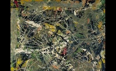 (detail) Jackson Pollock, Untitled, ca. 1949 © Fondation Beyeler, Riehen, Basel/