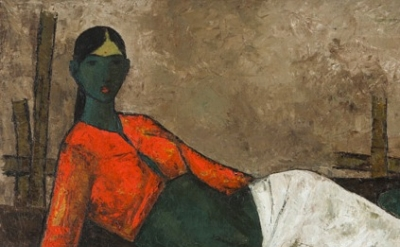 (detail) Melissa Stern reviews the exhibition Modernist Art from India The Body