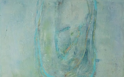 (detail) Lisa Pressman, Transcending, 24 x 24 inches, oil on wood, 2012-2013 (co