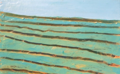 (detail) Annabelle Speer, Field, 2010, acrylic on board, 13 x 15 inches (courtes