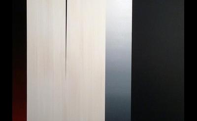 (detail) Dan Ramirez, La Duquesa: Nocturna Luz II, oil on panel  40h x 30w x 2 i