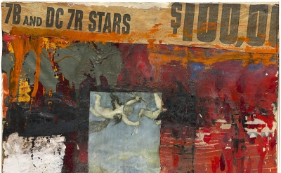 Robert Rauschenberg, Untitled, 1954 Combine (Private Collection)