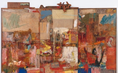 Robert Rauschenberg, Collection, 1954-55 (San Francisco Museum of Modern Art)