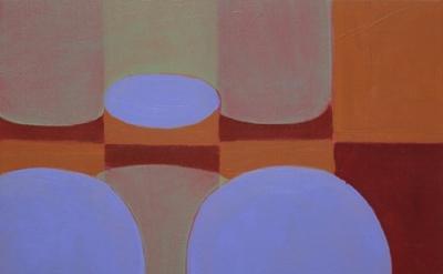 (detail)  Ravenna Taylor, Dissolution, 2011, 11.25 x 11.75 inches, oil, linen, w