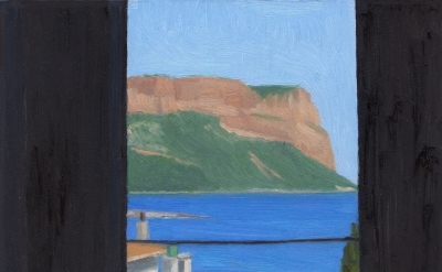 Eleanor Ray, Cassis 2015, oil on panel, 5 x 7 inches  (courtesy of the artist)