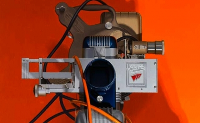 (detail) Harold Reddicliffe, Two Projectors and Extension Cords,  2008 16×16 inc