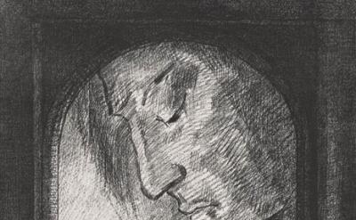 (detail) Odilon Redon, Lumière, 1893. Lithograph, 24.6 x 17.8 inches (sheet), Th
