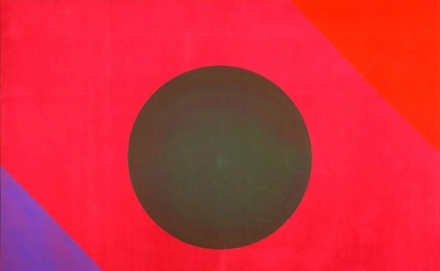 Paul Reed, #1D, 1965, acrylic on canvas, 68 x 94 inches (Smithsonian American Ar