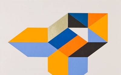 Paul Reed, Barcelona C V, 1969, 17 x 22 inches, collage on board (courtesy of D.