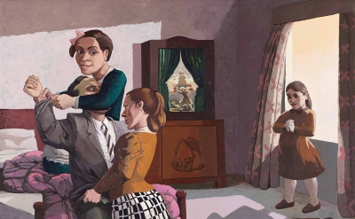 Paula Rego: The Family, 1988 (courtesy of the artist and Marlborough International Fine Art)