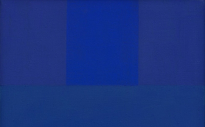 Ad Reinhardt, Abstract Painting, Blue, 1952, oil on canvas, 18 × 14 inches (Private Collection © 2017 Estate of Ad Reinhardt/ Artists Rights Society (ARS), New York. Courtesy David Zwirner, New York/London)Ad Reinhardt, Abstract Painting, Blue, 1952, oil on canvas, 18 × 14 inches (Private Collection © 2017 Estate of Ad Reinhardt/ Artists Rights Society (ARS), New York. Courtesy David Zwirner, New York/London)