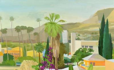 Celia Reisman, Silver Lake, oil on canvas, 36 x 42 inches, 2014 (courtesy of the
