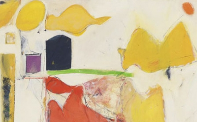 (detail) Milton Resnick, Untitled, 1946 (courtesy of the Resnick/Passlof Estate