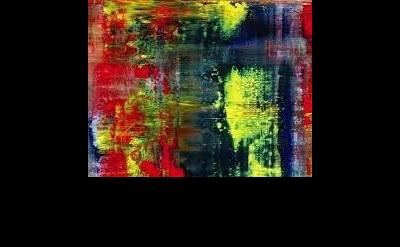 (detail) Gerhard Richter, Abstraktes Bild (809-4)