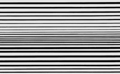 (detail) Bridget Riley, Horizontal Vibration, 1961 Private collection. (© Bridge