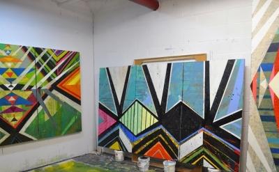 Jason Rohlf: Studio View (photo: Paul Behnke)