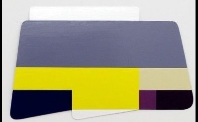 Ruth Root, Untitled, 2009, enamel on aluminum, 24 x 39 inches (courtesy of the a