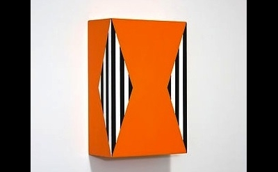 Richard Roth, Under the Influence, 2012, acrylic on birch plywood panel 12 x 8 x