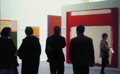 (detail) Mark Rothko 1961, Whitechapel Gallery. Photograph: Sandra Lousada (sour