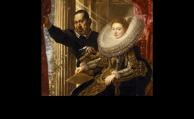 Peter Paul Rubens, Maria Grimaldi and her dwarf Dorset, Kingston Lacy, The Banke
