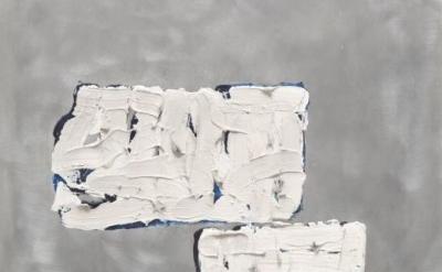 (detail) Robert Ryman, Untitled (circa 1964) (courtesy of Robert Ryman / ARS, NY