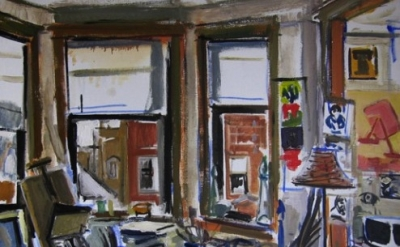 (detail) Dmitry Samarov, The Mess I've Made, 2010, Oil on linen