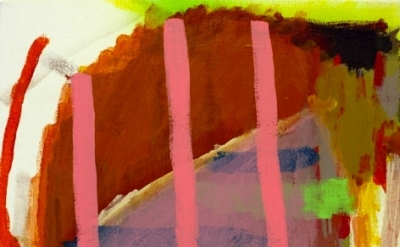 (detail) Henry Samelson, Puck, acrylic on canvas, 12 x 9 inches, 2012