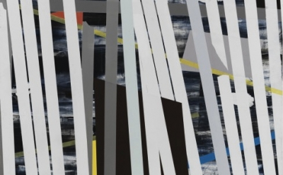 (detail) Sigrid Sandström, Untitled, 2012, acrylic on board, 60 x 48 inches (cou