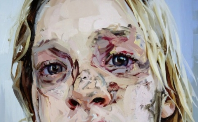 (detail) Jenny Saville, Bleach, 2008, oil on canvas, 99.25 x 73.5 inches (collec