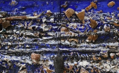 (detail) Julian Schnabel, The Sea, 1981 (courtesy The Brant Foundation Art Study
