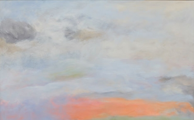 Jon Schueler, North to Ornsay, oil on canvas, 1979, oil on canvas 60 x 73 inches