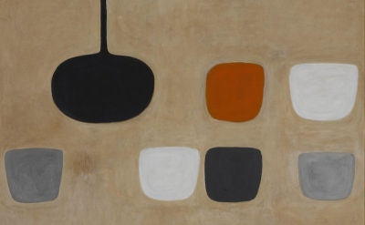 (detail) William Scott, Still Life with Orange Note, 1970 (collection Ulster Mus
