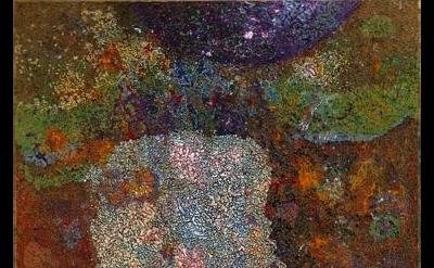 (detail) Charles Seliger, Runic Veil, 1989 (courtesy Michael Rosenfeld Gallery)
